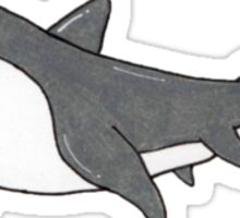 rusty the shark Sticker