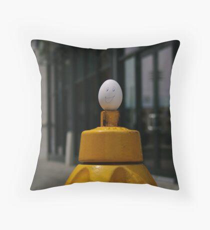 Eggy Throw Pillow