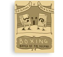 Old Timey Boxing Games Canvas Print