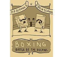 Old Timey Boxing Games Photographic Print