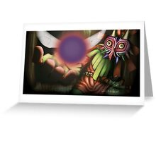 Majora's Mask: Skull Kid Greeting Card