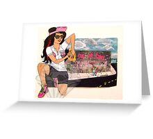 "Cup My Cakez ""LA"" Location Greeting Card"