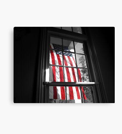 American Window  Canvas Print