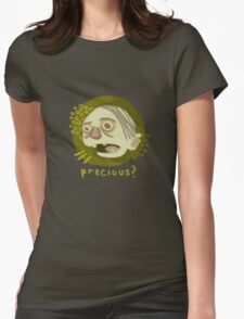 A hasty portrait of Gollum Womens Fitted T-Shirt