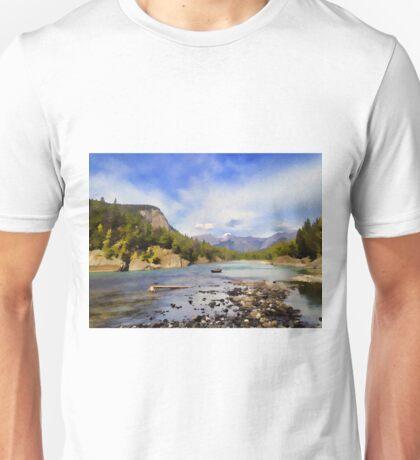 Bow River Row Boat Unisex T-Shirt
