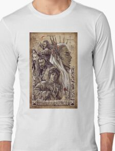 The Hobbit - The Desolation of Smaug Long Sleeve T-Shirt