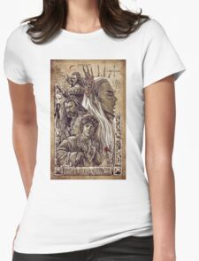 The Hobbit - The Desolation of Smaug Womens Fitted T-Shirt