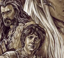 The Hobbit - The Desolation of Smaug Sticker