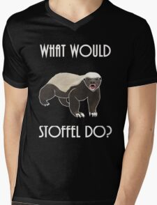 What would Stoffel do? Mens V-Neck T-Shirt