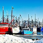 Frozen Harbor by Poete100