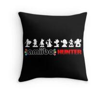 The Amiibo Hunter Shirt #2 Throw Pillow