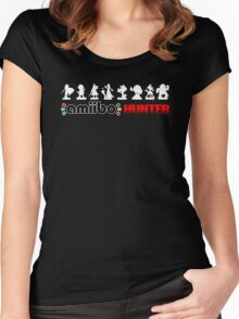 The Amiibo Hunter Shirt #2 Women's Fitted Scoop T-Shirt
