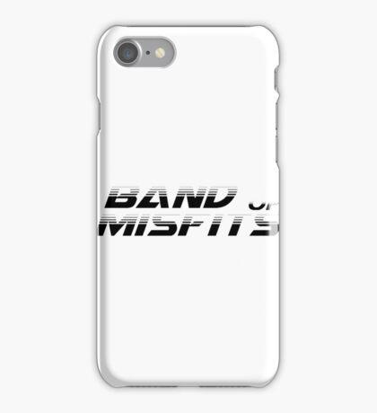 Band of Misfits White Logo iPhone Case/Skin