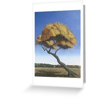 Lone Willow Greeting Card