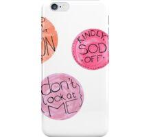 Sod Off Pack iPhone Case/Skin