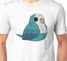 Quaker Parrot (blue) Unisex T-Shirt