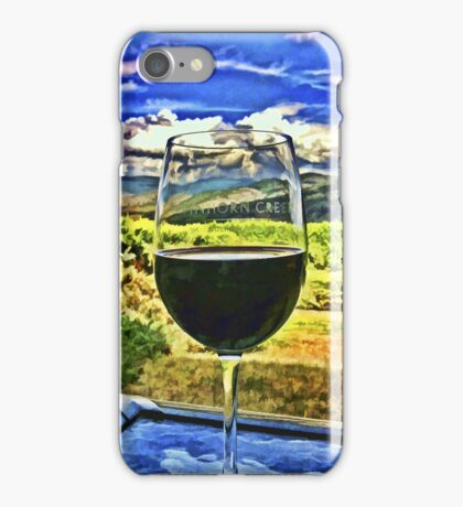 Tinhorn Wine iPhone Case/Skin