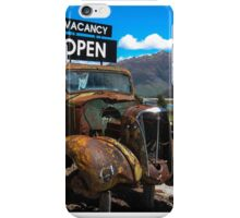 Makarora Truck Stop iPhone Case/Skin