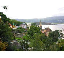Portmeirion Village Photographic Print