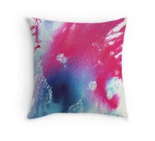The Itchy Glowbow Blow Throw Pillow