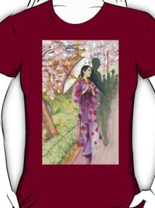 lady with a parasol T-Shirt