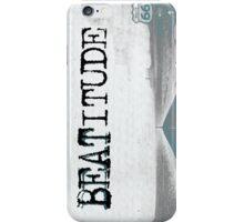 BEATITUDE iPhone Case/Skin