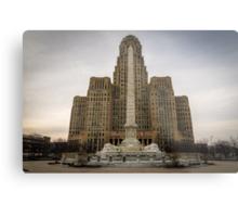 Niagara Square Metal Print