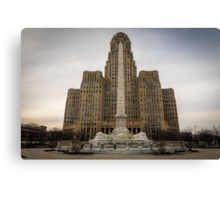 Niagara Square Canvas Print