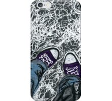 chucks in the snow iPhone Case/Skin