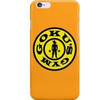 Goku's Gym iPhone Case/Skin