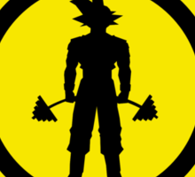 Goku's Gym Sticker
