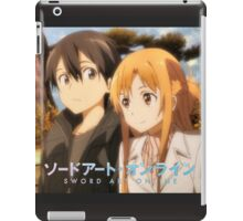 SAO Kirito and Asuna iPad Case/Skin