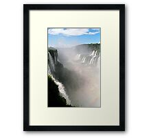 "Looking down the ""Devil's Throat"" Framed Print"