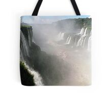 "Looking down the ""Devil's Throat"" Tote Bag"