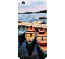 Boats Are Waiting iPhone Case/Skin