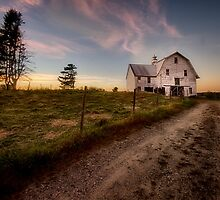 Old Sheep Barn by fuzzywunkle