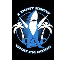 left dancing shark Photographic Print