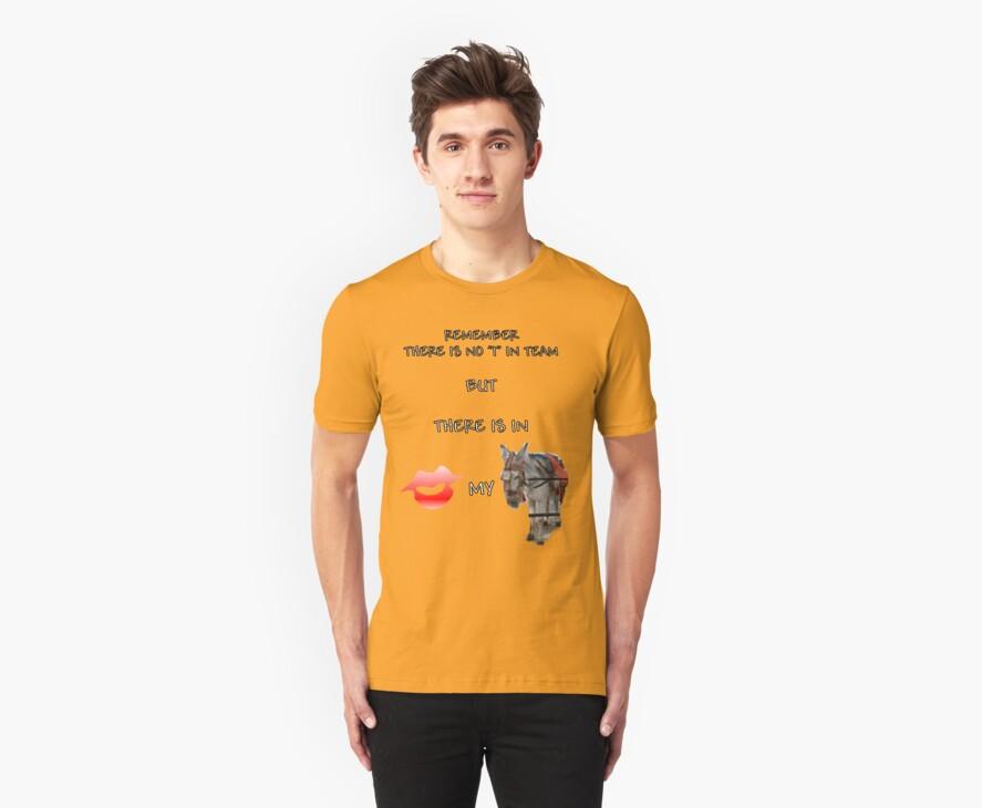 Team Shirt by Allen Lucas