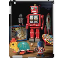 Vintage Robot & Friends iPad Case/Skin
