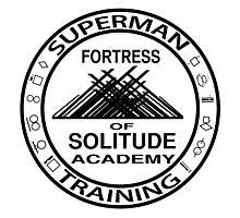 Superman Training  Photographic Print