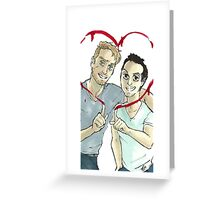 Valentine's Mormor Greeting Card