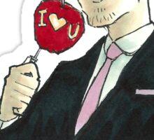 Valentine's Jim Sticker