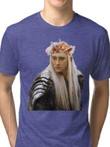 Flower Crown Thranduil Tri-blend T-Shirt