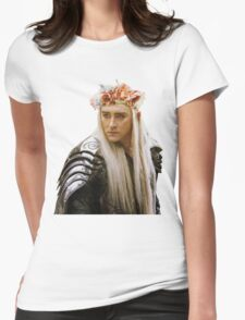 Flower Crown Thranduil Womens Fitted T-Shirt