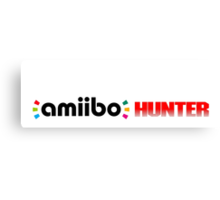 The Amiibo Hunter Shirt #3 Canvas Print