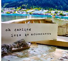 Oh Darling Lets Be Adventurers by irishkiwipcards