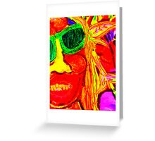 Rasta Man Greeting Card