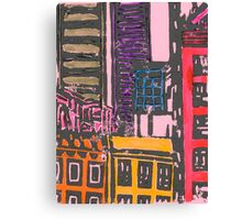 view from the moma (pink) Canvas Print