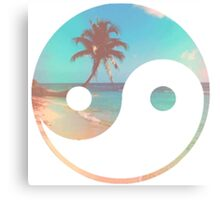 Beach Zen Canvas Print