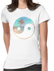 Beach Zen Womens Fitted T-Shirt